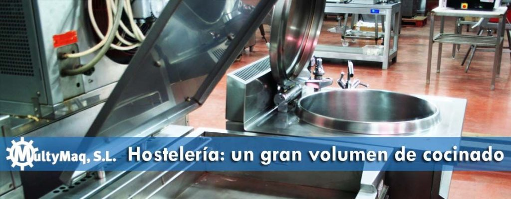 Maquinaria industrial para grandes cocinas