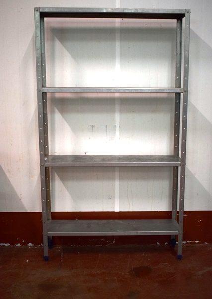 Estanteria industrial fabricada con acero inoxidable ref - Estanterias acero inoxidable ikea ...